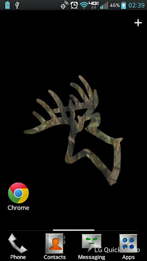 Camo Buck Live Wallpaper