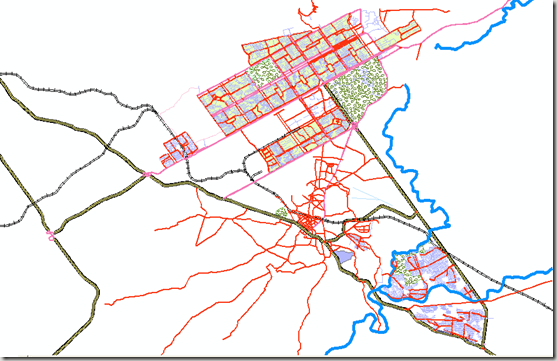GIS Map of Islamabad/Rawalpindi (ESRI Format) | Pakistan GIS