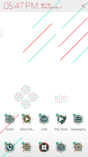 Free Simple Graphic Atom theme APK for Android