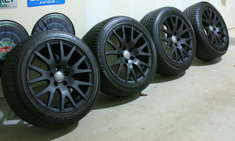 Oem Audi Tt Wheels 17x8 5 Black Will Fit Mk5 Jetta Gti