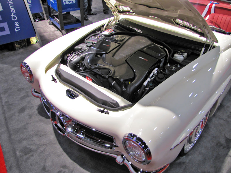 1961 190SL @ SEMA with performance by RENNtech - Teamspeed com