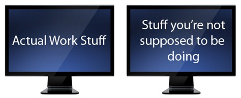 dual monitor truth