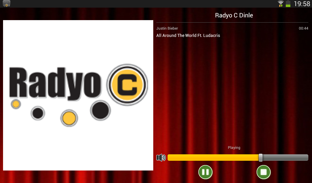 Listen Radyo C- screenshot