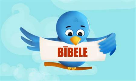 Svētie Raksti twitter formātā