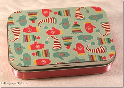 winter gift set tin top