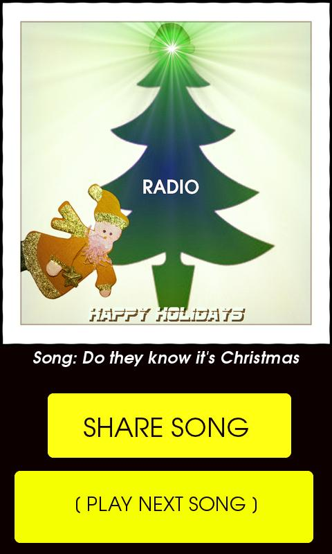 Christmas Radio - Free- screenshot