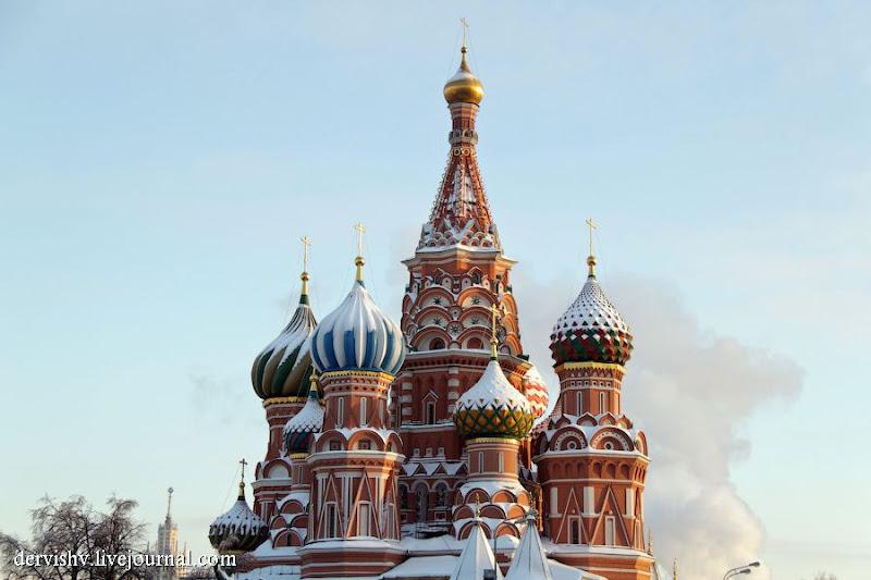 Немного о Москве.