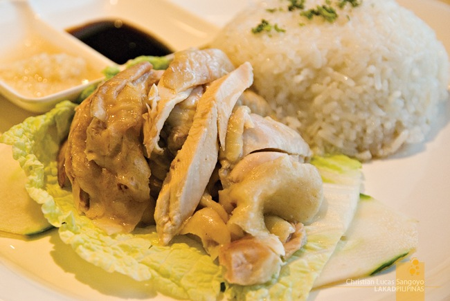 Hainanese Chicken Rice at the Orchard Road