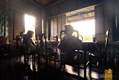 Dining Room at the Zoleta Ancestral House in Abra de Ilog