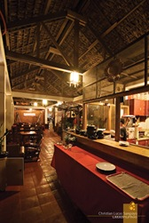Emohruo Beach Restobar Interior at Pagudpud's Saud Beach