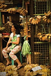 Banana Vendor at Pasig's Public Market