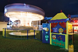 Carousel Ride for the Kids at Centris Walk