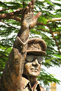 The MacArthur Statue at Corregidor's Lorcha Dock