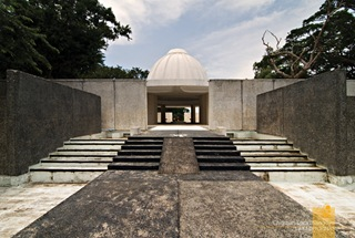 The Back of Corregidor's Memorial Leading to the Grand View of the Manila Bay