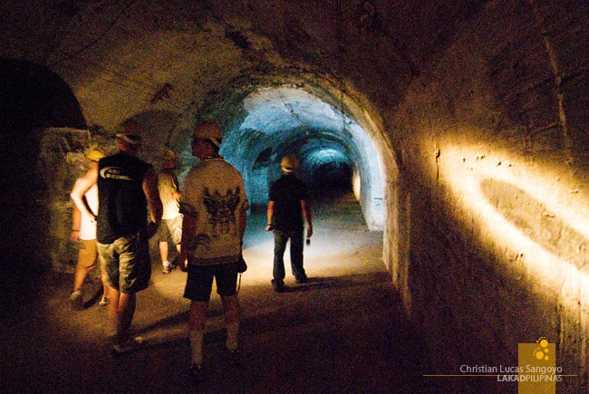 Through the Intact Parts of Corregidor's Malinta Tunnels
