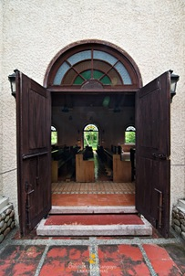 Corregidor Chapel's Side Entrance