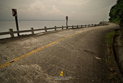 Seaside Roadway to Corregidor's Tailside