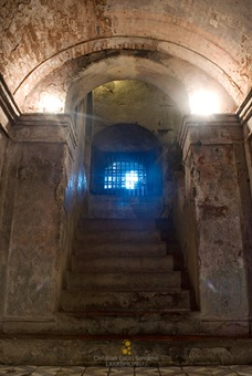 The Crypt Stairwell at Nagcarlan Underground Cemetery