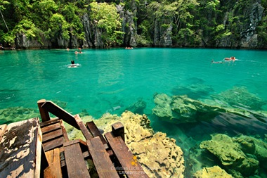 The Emerald Waters of Coron's Kayangan Lake