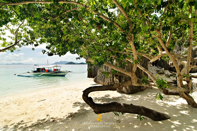 The Cove at the Other Side of Banol Beach in Coron