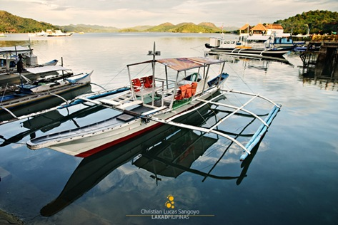 Boats Docked Near Coron Market