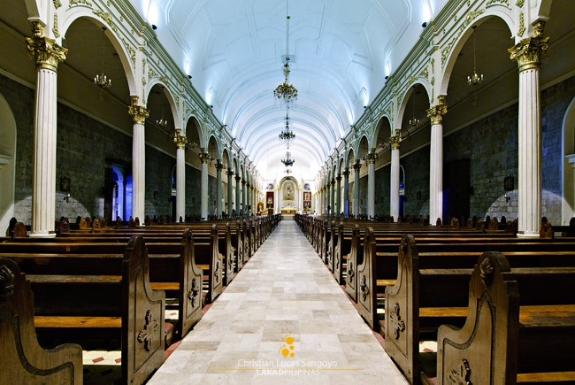 The Nave of Bacolod's San Sebastian Cathedral