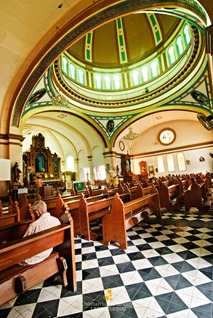 The Dizzying Interiors of the San Diego Cathedral in Silay