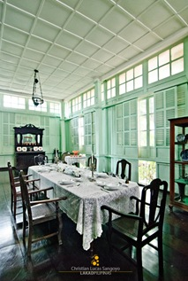 The Dining Area of Bernardino Jalandoni Museum in Silay City