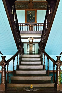 The Grand Staircase of Balay Negrense Museum