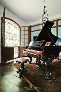 Grand Piano at the Balay Negrense Museum