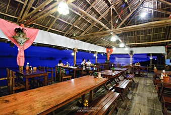 Tropical Interiors at Resto Grill sa Baybay in Bacolod City