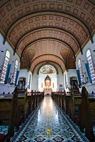 Intricate Interior at Bacolod's Lupit Church