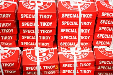 Special Chinese Tikoy at Chinatown Manila