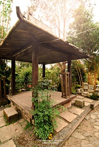 Gazebo at the Burnham Park Orchidarium