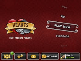 Screenshot of Hearts Plus