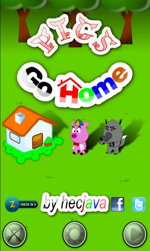 Pigs Go Home - screenshot