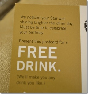 Centsible Savings Free Drink From Starbucks