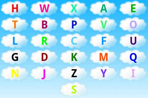 ABC alphabet/abeceda - screenshot