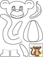 Dibujos Animales Colorear Recortar Y Montar Colorear Dibujos
