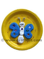 butterfly-clay-paperplate-craft