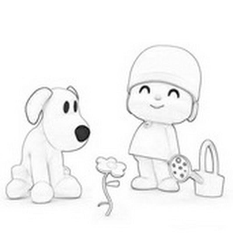 Dibujos Para Colorear De Pocoyo Colorear Dibujos Infantiles