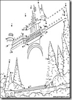 completar el dibujo con puntos (6)