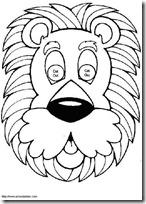 mascara león -blogcolorear-com (9)
