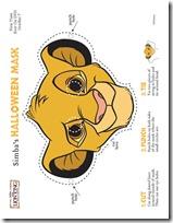 mascara león blogcolorear-com (3)