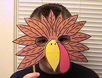 turkey-mask