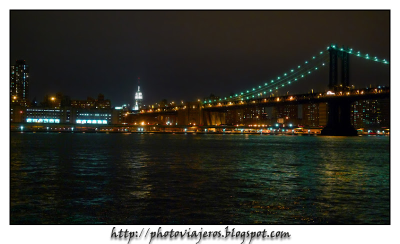 Empire State y puente de Manhattan
