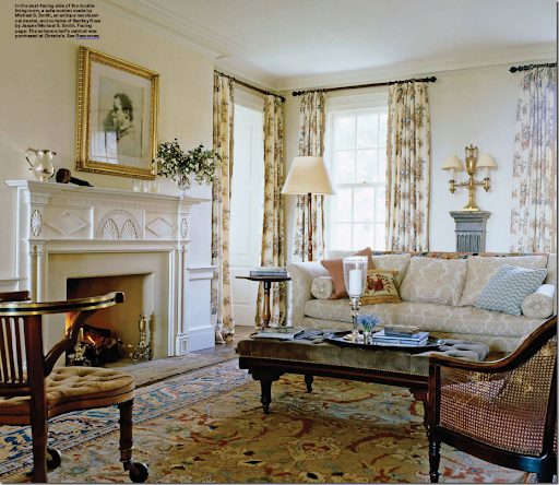 This Estate In Upstate New York, Designed By Michael Smith And Featured In  Novemberu0027s Elle Decor, Reminds Me Of The Type Of Furniture That Leonards  Carries.