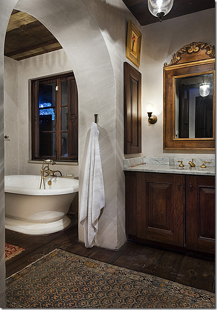 The Master Bath More Charming Windows And More Antique Rugs