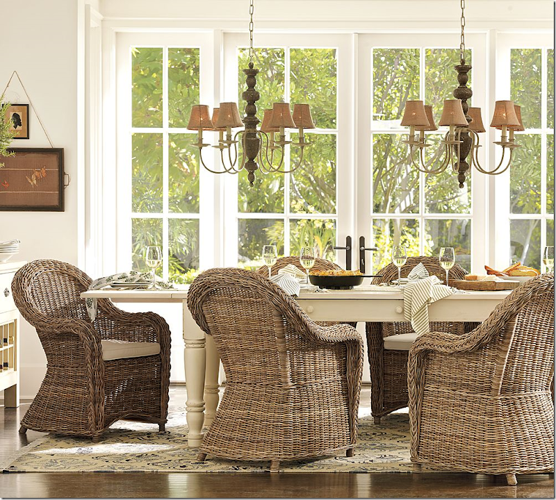 COTE DE TEXAS More Rough Luxe Bargains Dining Room Wicker Chairs  Design  616821 Dining RoomWicker Dining Room Furniture   Descargas Mundiales com. Dining Room Rattan Chairs. Home Design Ideas