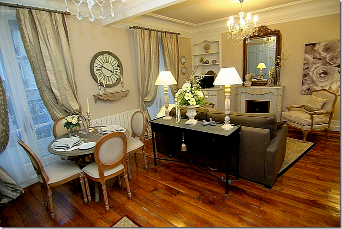 image. COTE DE TEXAS  A Few Cute Apartments In Paris